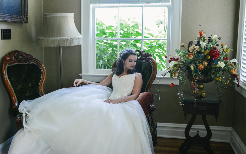 maylon house bridal portrait