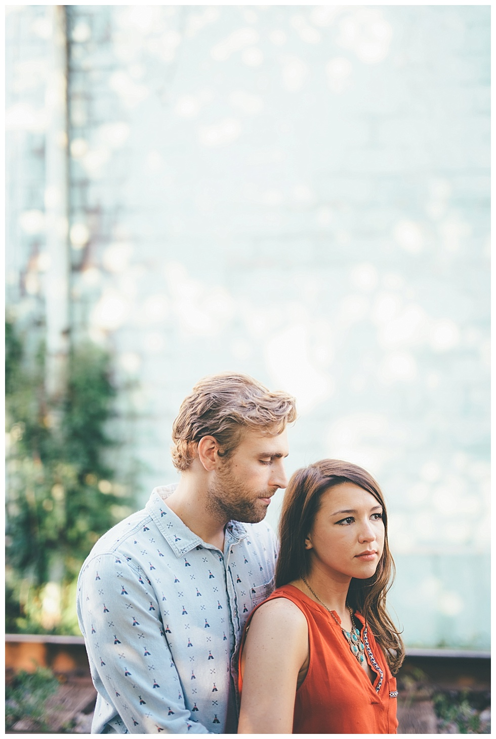 west virginia engagement photo