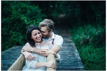 Julie + Seth | A Huntington, WV Engagement
