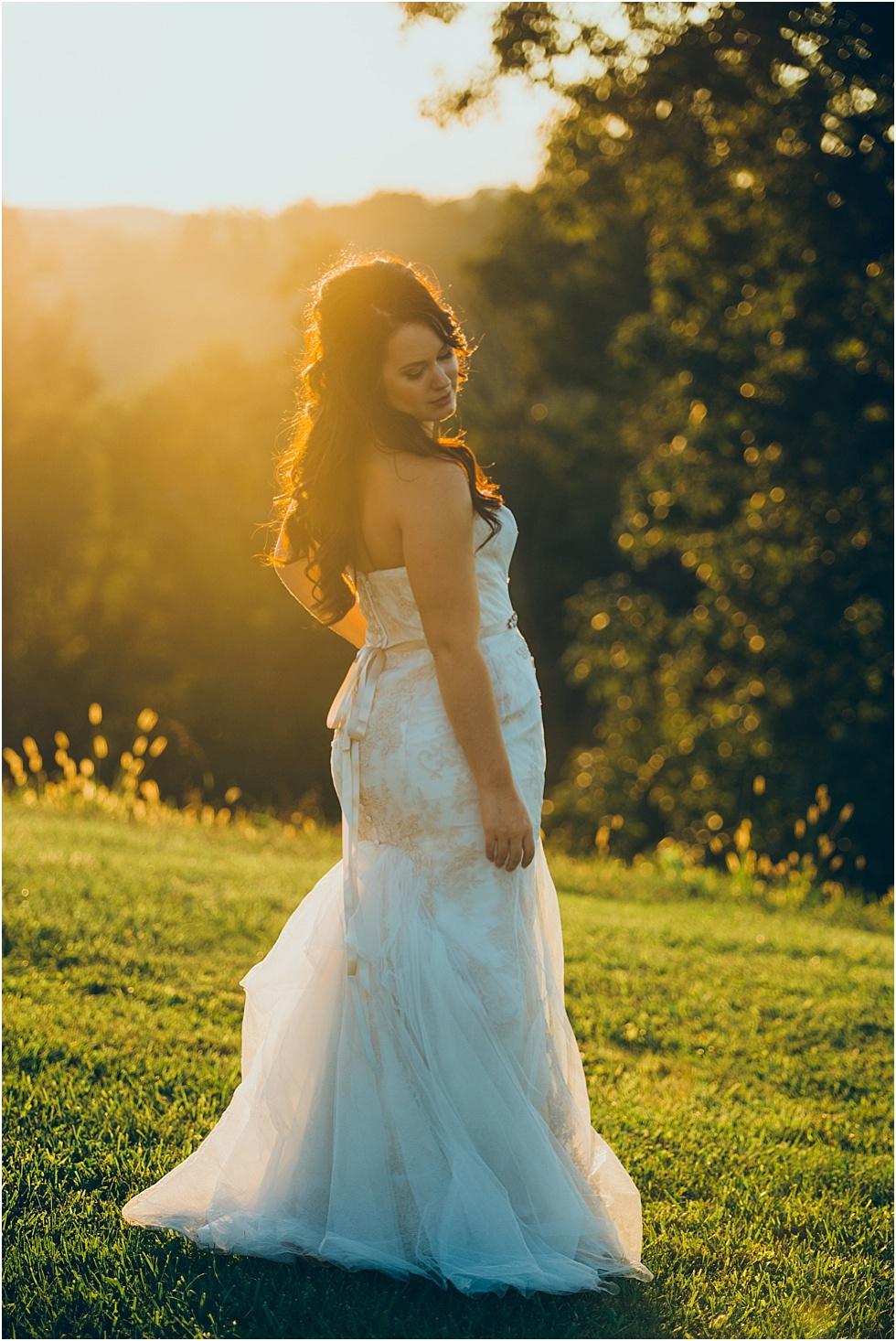 benedict haid farm bridal portrait