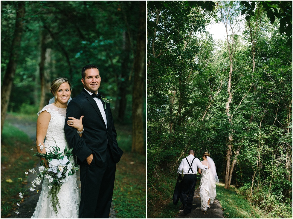 wine cellar park wedding portraits west virginia
