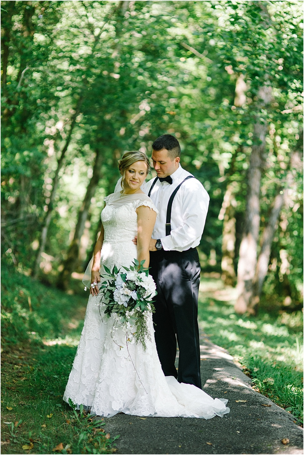 west virginia wedding portrait