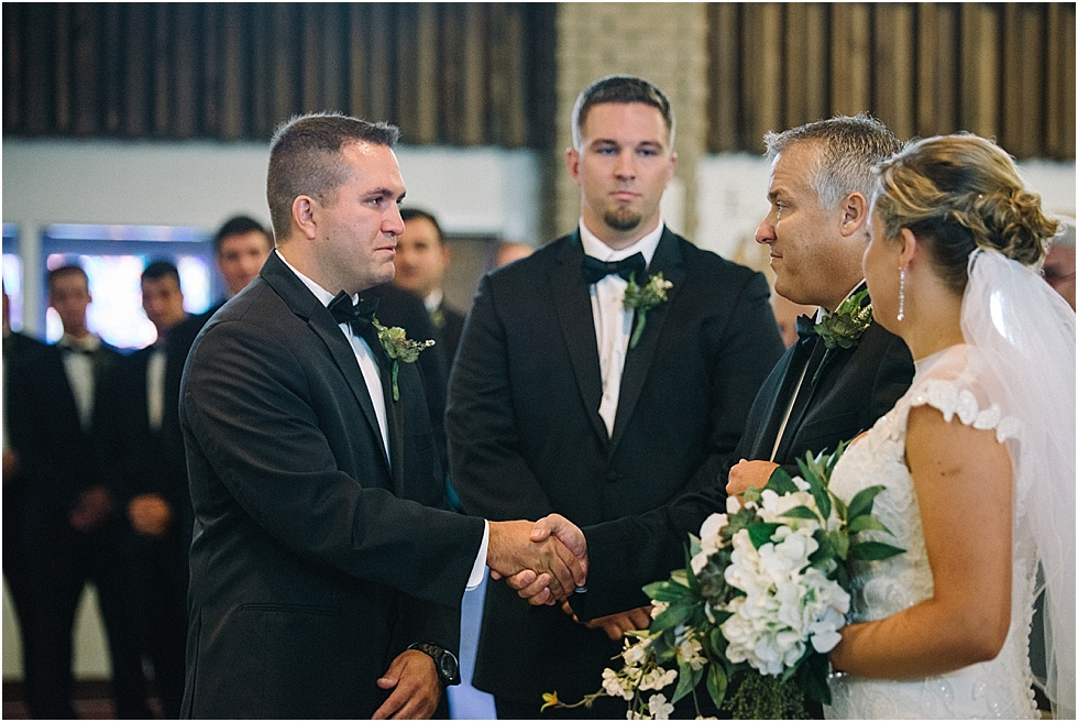 classic catholic nitro wv wedding ceremony