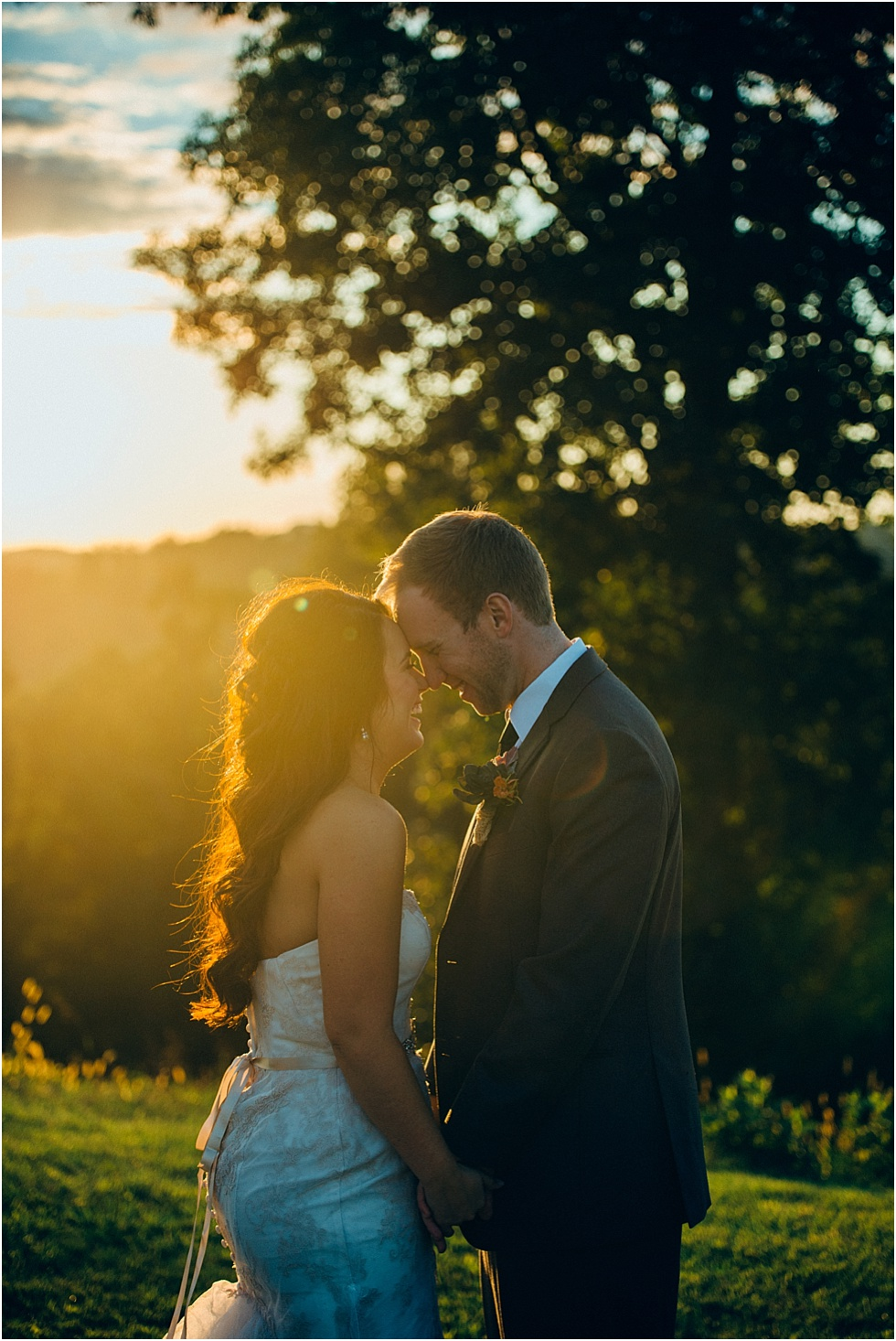 wedding at benedict haid farm west virginia