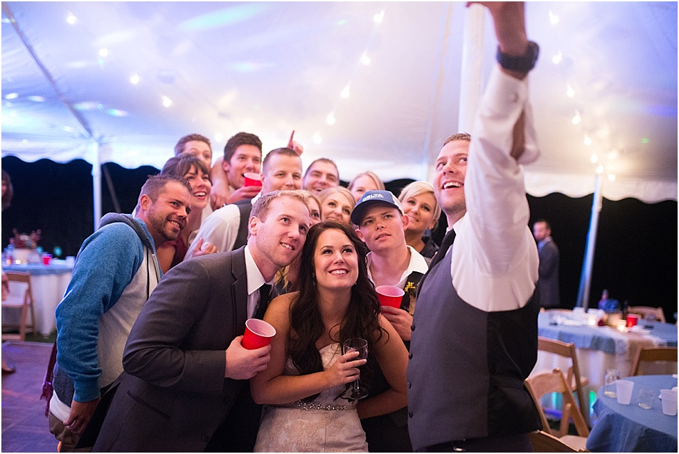 wedding selfie reception photography