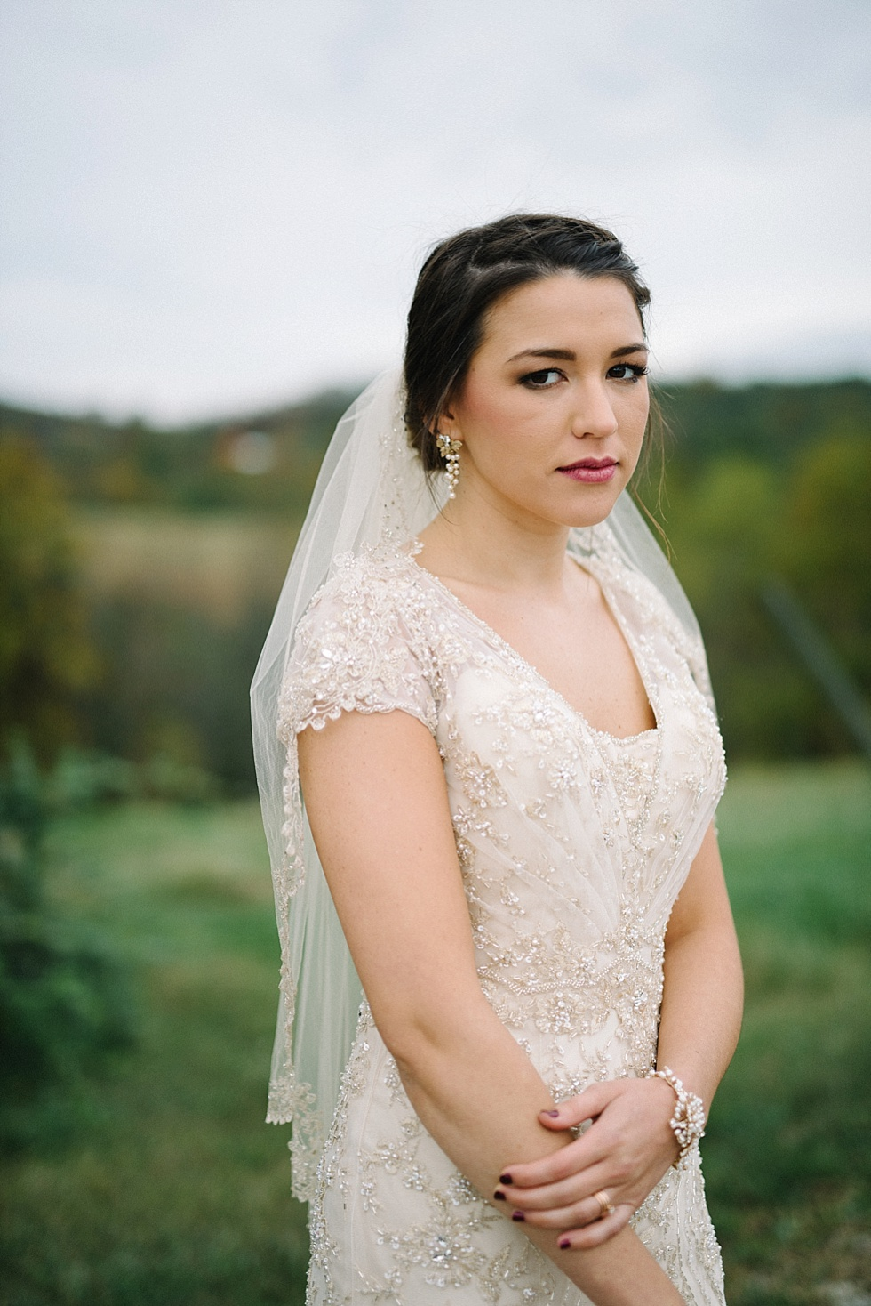 west virginia bridal portrait photographer