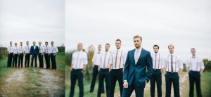 wv wedding party photo