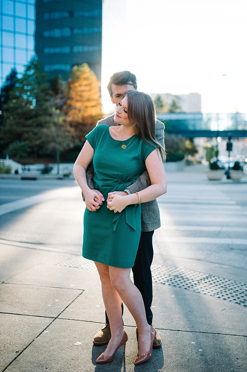 lexington ky engagement photo