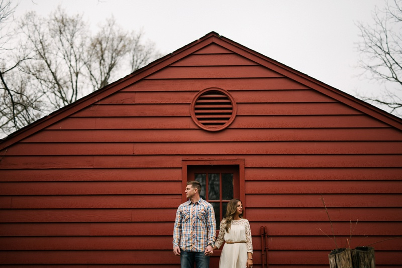 Black Acre Farms Engagement Photo