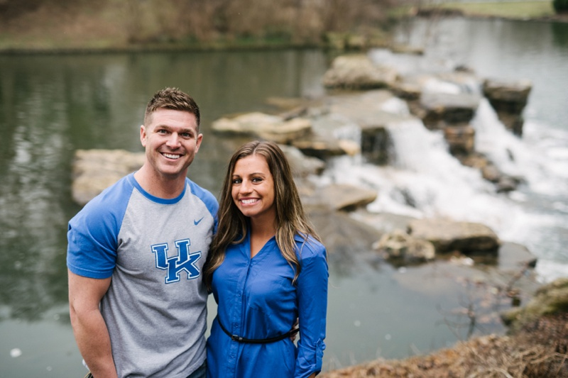 engagement session in Louisville KY