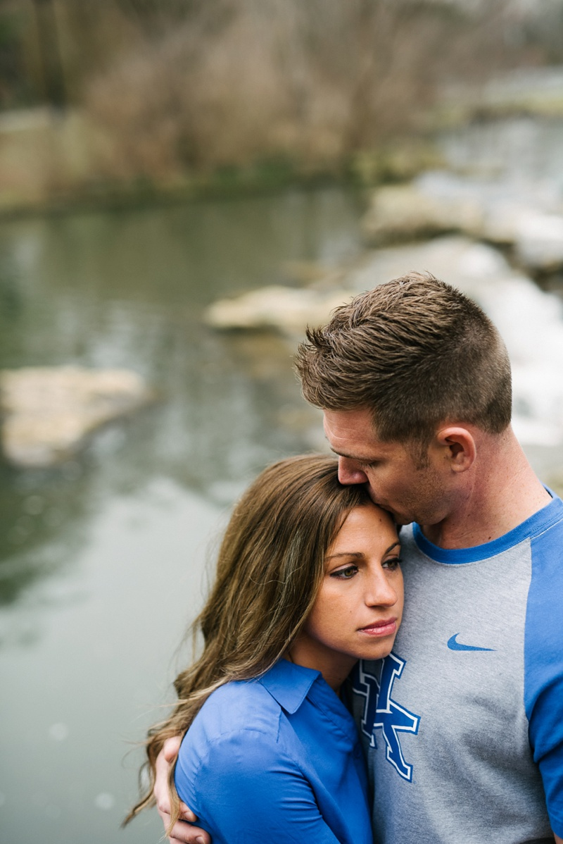 engagement photo in Louisville, KY