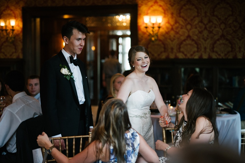 louisville ky wedding reception photo