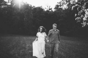huntington wv engagement photo