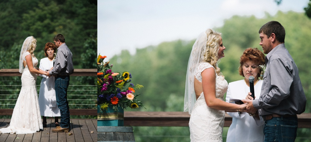 wv wedding ceremony photo