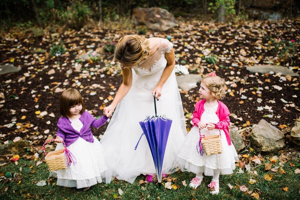 cheat lake wedding photo