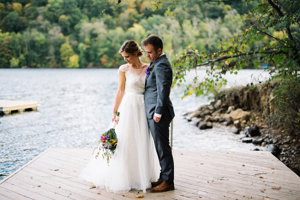 cheat lake wedding photography