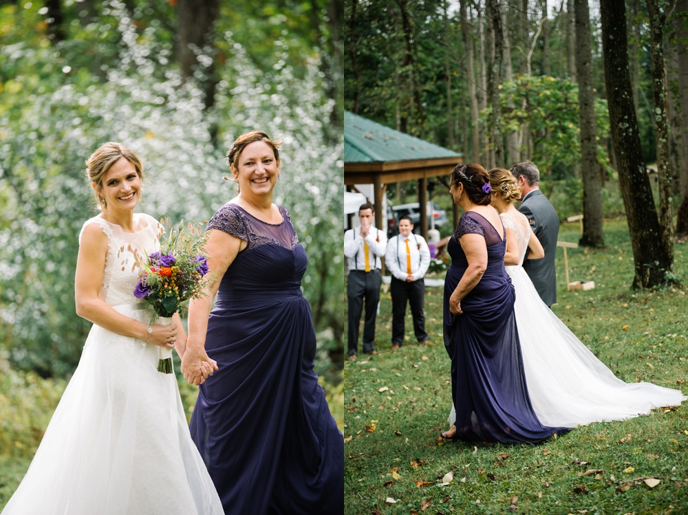 wv wedding at cheat lake
