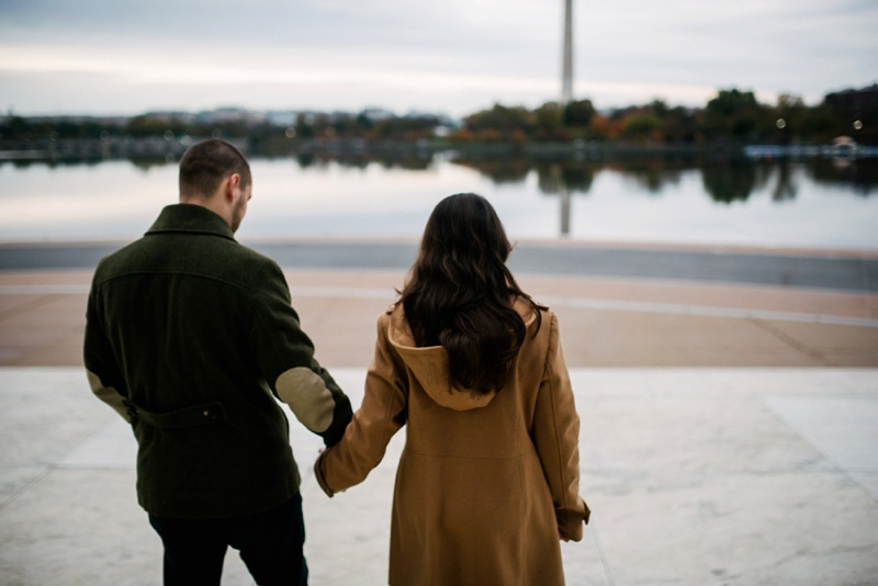 tidal basin engagement photo