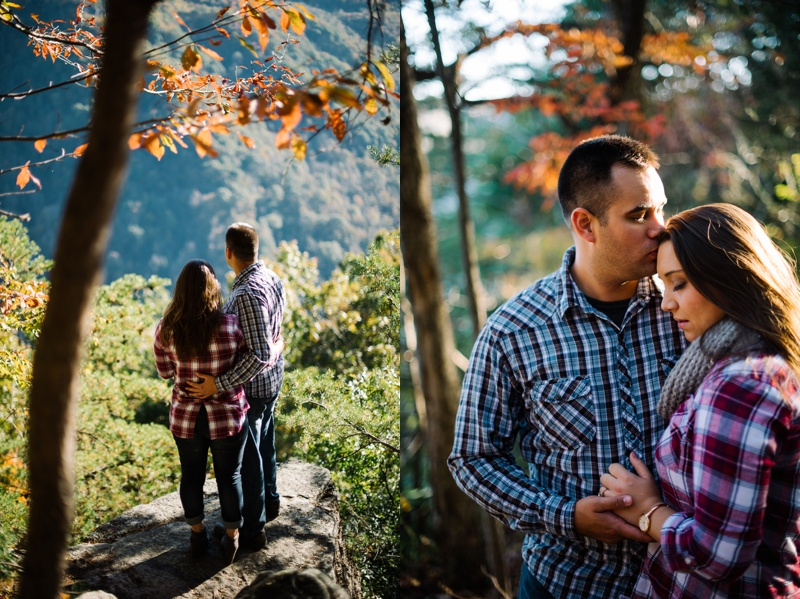 endless wall trail engagement session