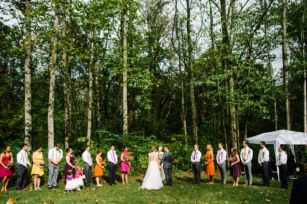 photo of a west virginia wedding