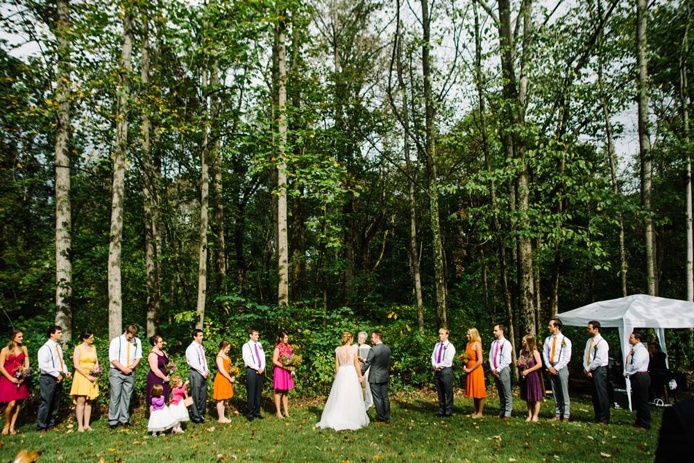 photo of a west virginia wedding