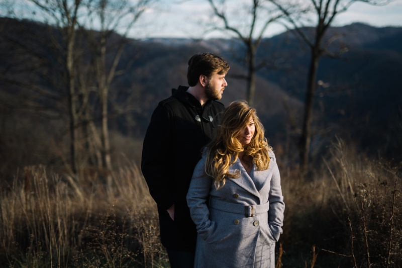 engagement photography session in williamson ky