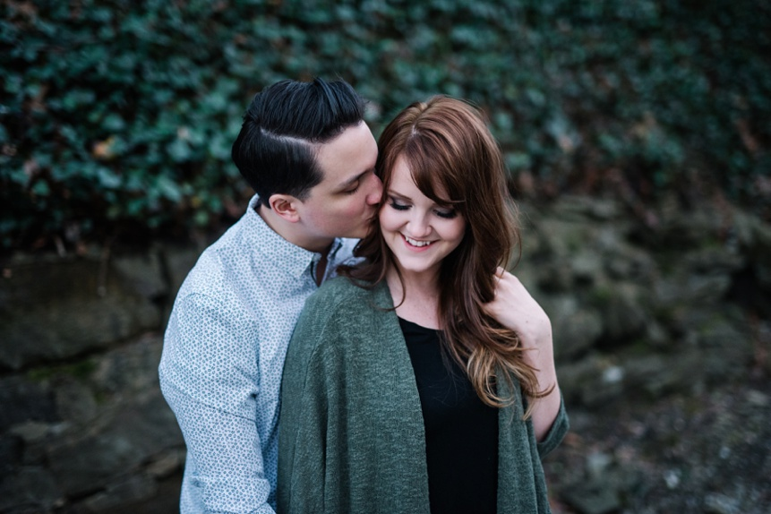 charleston wv engagement photo