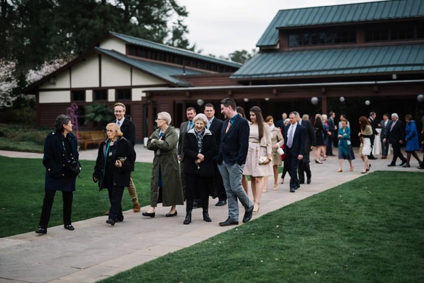 wedding at duke gardens