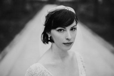 durham nc bridal portrait
