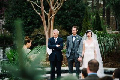 duke gardens wedding photo
