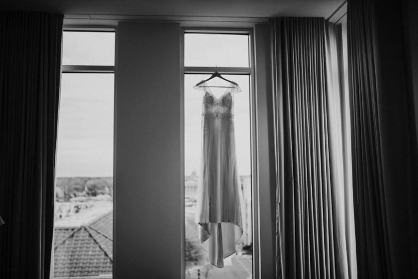 durham nc hotel getting ready photo
