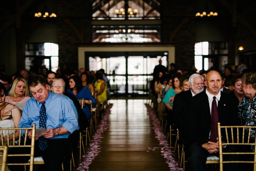 wedding ceremony at stonewall jackson resort