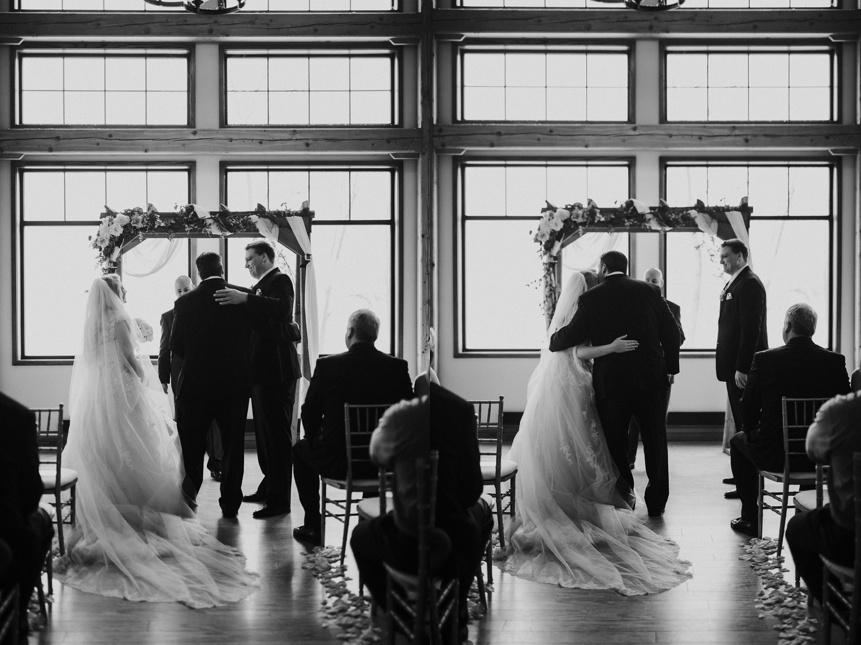 stonewall jackson resort wedding photo