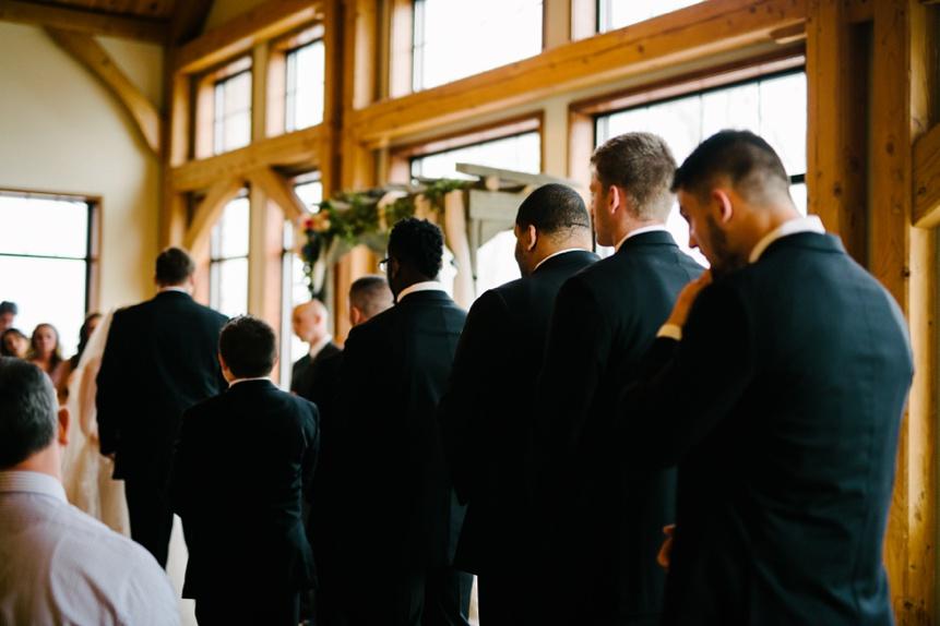 wedding ceremony photo at stonewall jackson resort