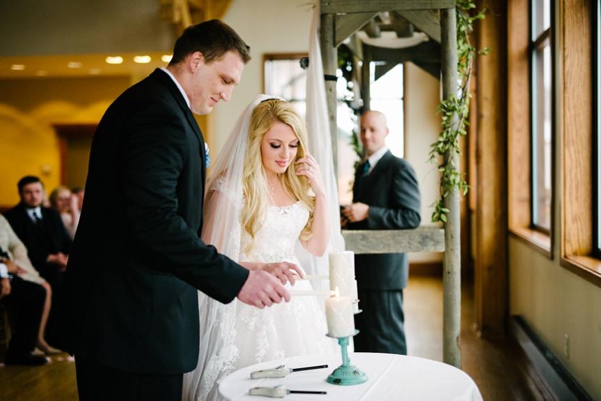 wedding ceremony stonewall jackson resort wv