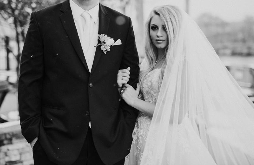 wedding photo at stonewall jackson resort