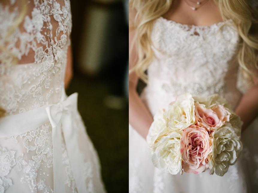 bridal photo at stonewall jackson resort
