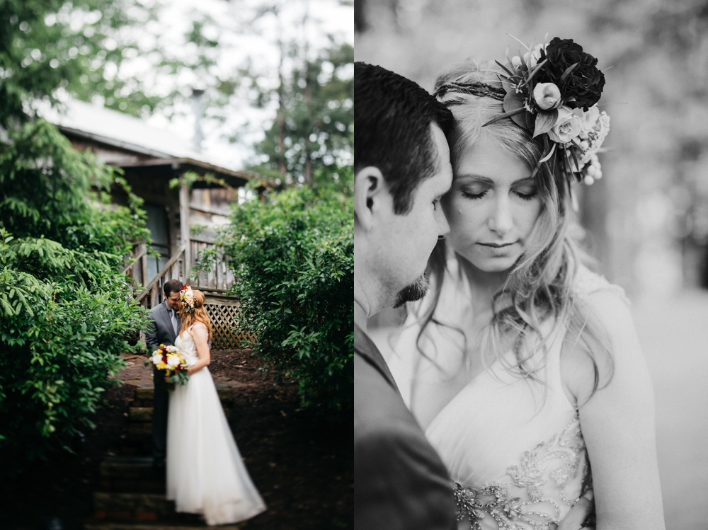 west virginia wedding photo at benedict haid farm