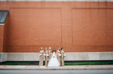 Glamorous Clay Center Wedding