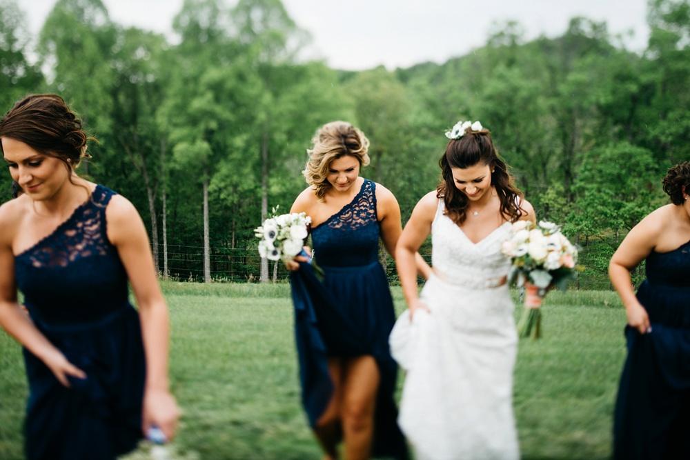wedding on a blueberry farm