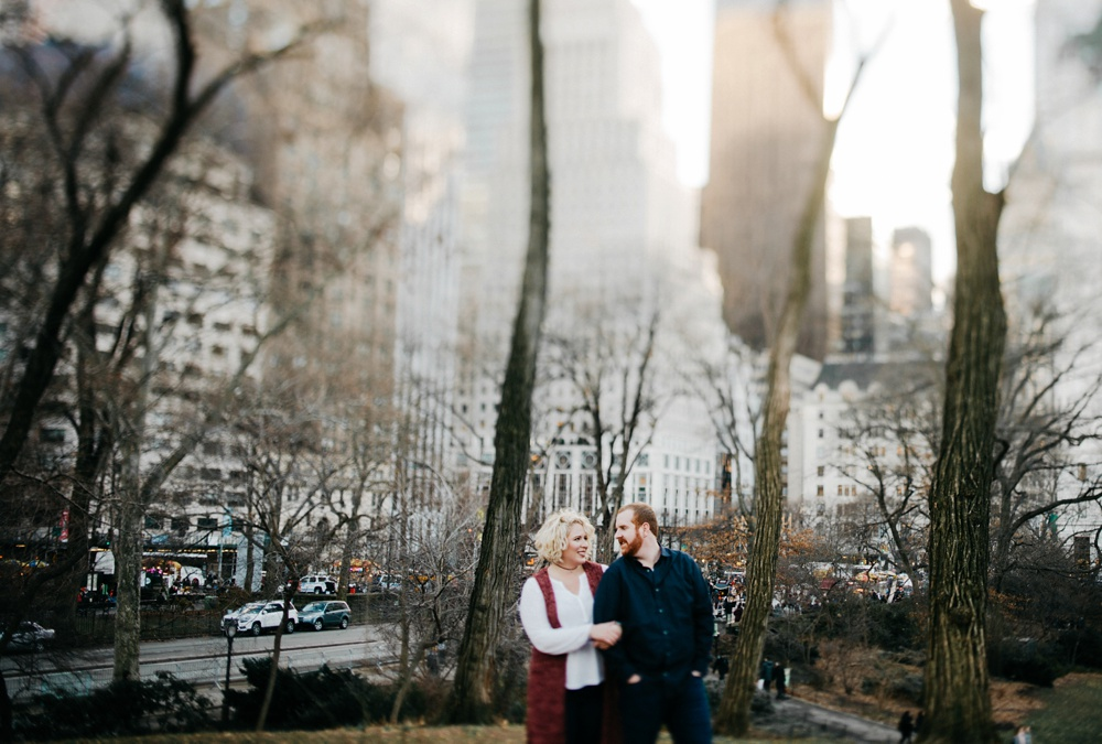 nyc engagement photographers