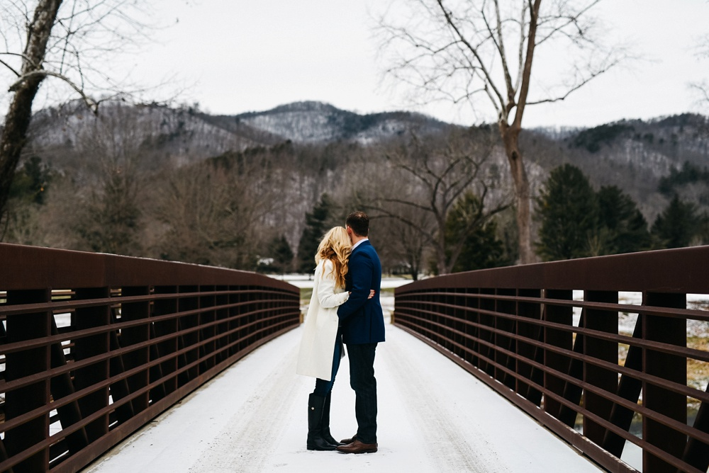 greenbrier engagement photo