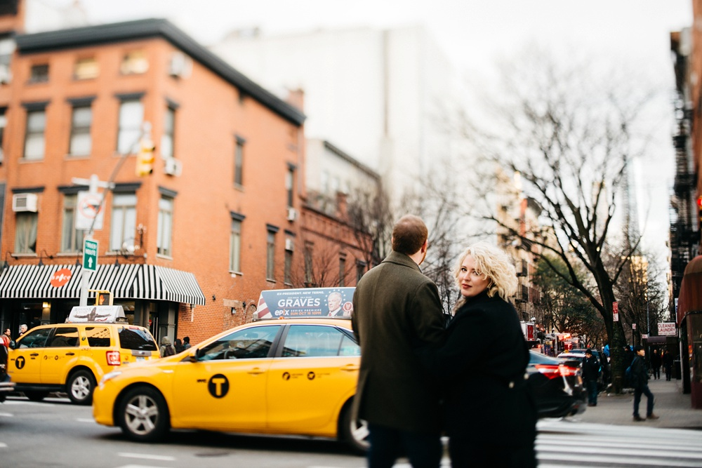 chelsea NYC engagement photographers