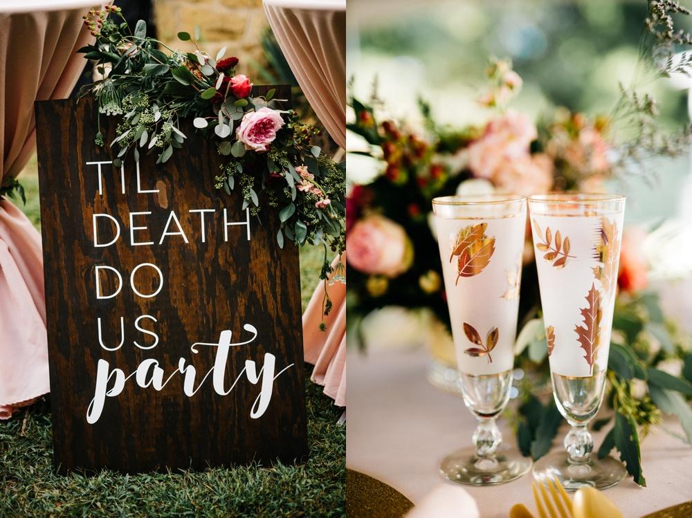 glamorous farm wedding in wv