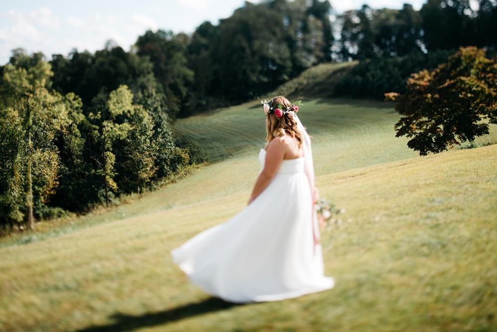 farm wedding in west virginia