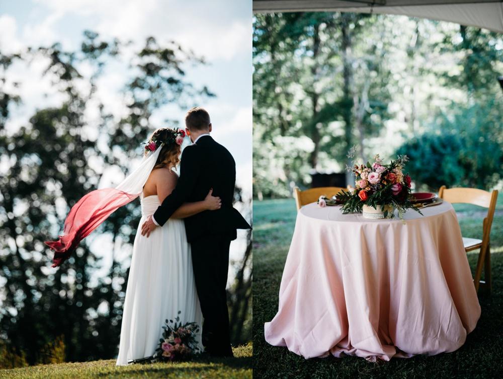 glamorous wv farm wedding