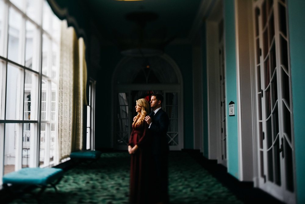 wv engagement photography at the greenbrier