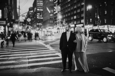 Winter Engagement Portraits in NYC