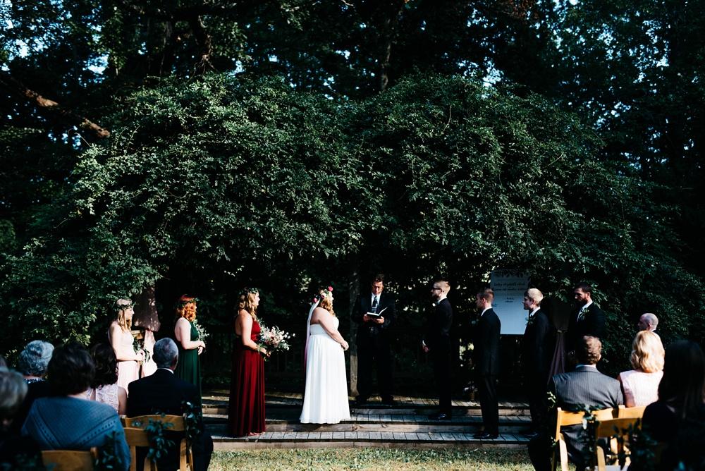 wedding ceremony charleston wv