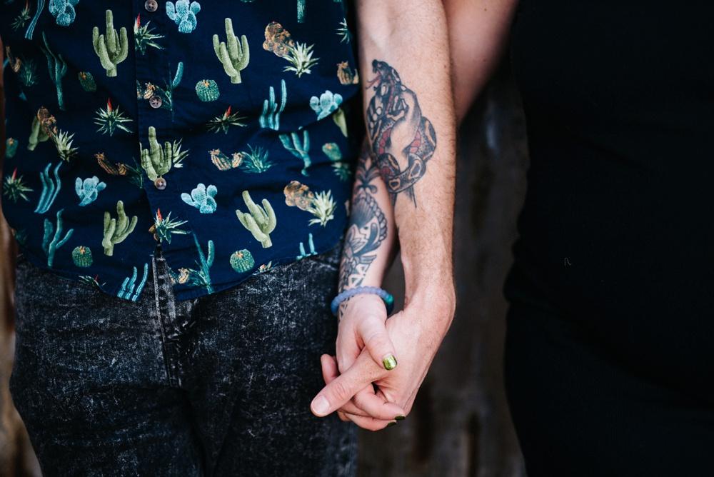 tattooed couples photo